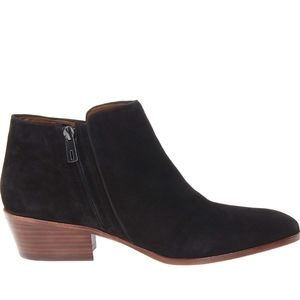 NWT Sam Edelman Iconic Petty Ankle Boot Suede 7.5M